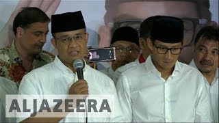 Video Indonesia: Anies Baswedan claims victory in Jakarta election MP3, 3GP, MP4, WEBM, AVI, FLV Desember 2017