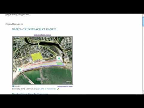 Embed maps into a website