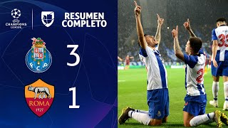Porto 3-1 Roma – GOLES Y RESUMEN – VUELTA OCTAVOS DE FINAL – UEFA Champions League