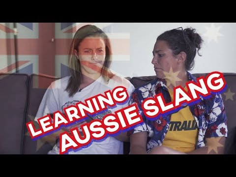 Learning Aussie Slang
