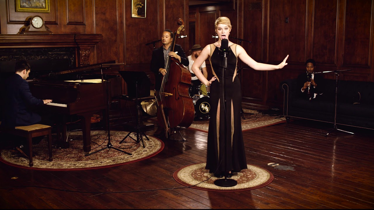 Chasing Pavements – Adele (1920s Gatsby Style Cover) ft. Hannah Gill