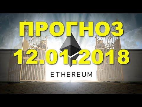 ETH/USD - Эфириум Etherium прогноз цены / график цены на 12.01.2018 / 12 января 2018 года