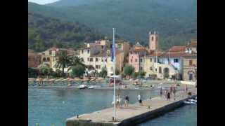 Marciana Italy  City new picture : Boat ride from San Vincenzo to Marciana Marina Elba Island Tuscany Italy