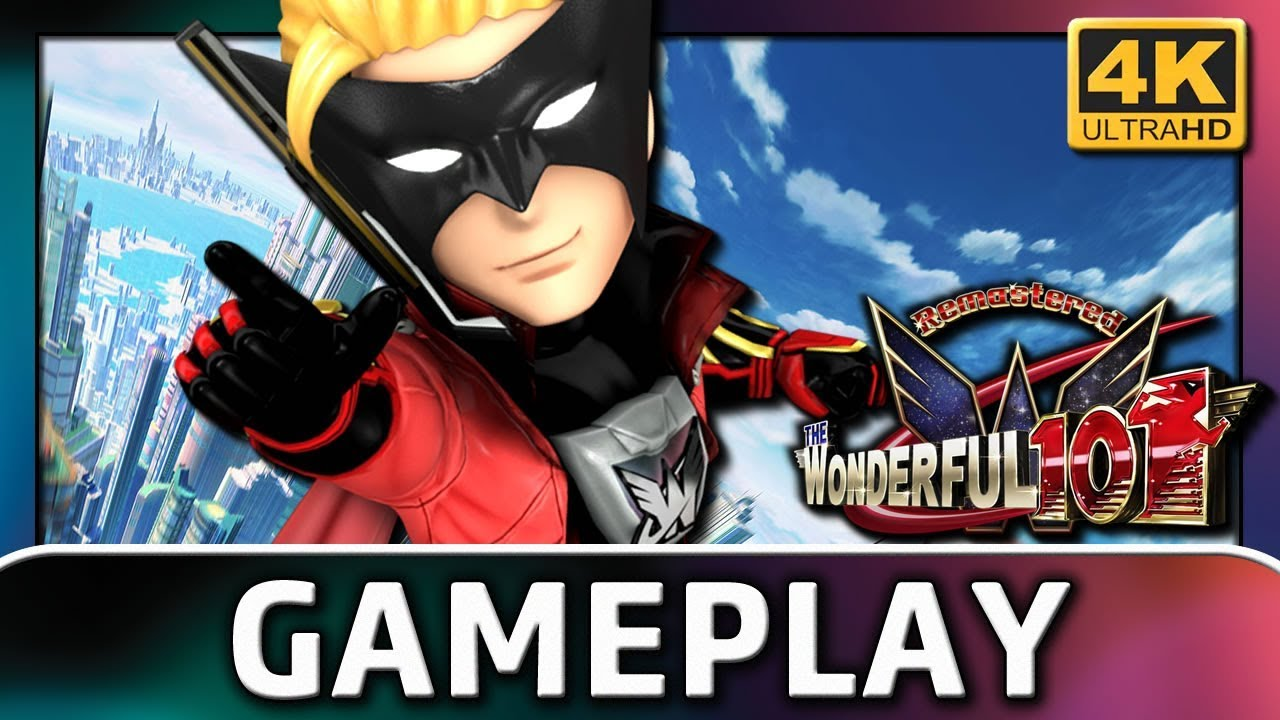 The Wonderful 101: Remastered | 4K Gameplay