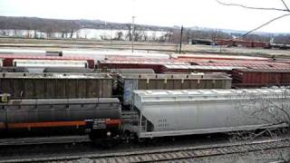 Enola (PA) United States  City pictures : Enola Yard; mixed freight train and humping operation