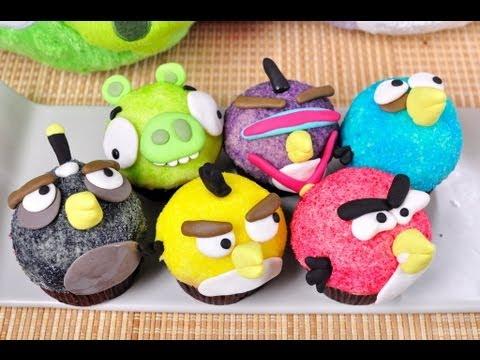 แองกี้เบิร์ด - แองกี้เบิร์ดคัพเค้ก Angry Bird Cupcake...