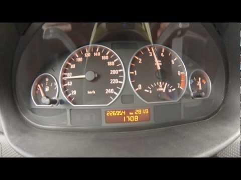 BMW E46 330i acceleration 50-200 km/h