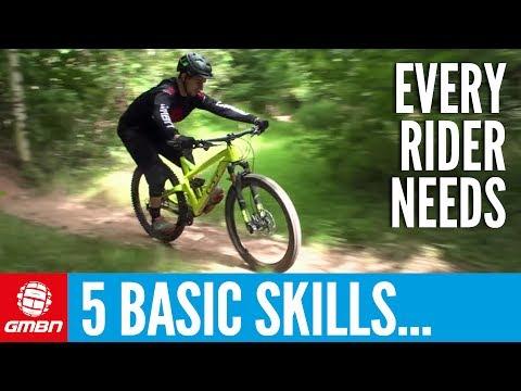 5 Basic Skills Every Mountain Biker Should Know (видео)