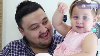 Hastanemizin ilk bebeği Hatice Mira'nın babası, Hasan Çongara'nın