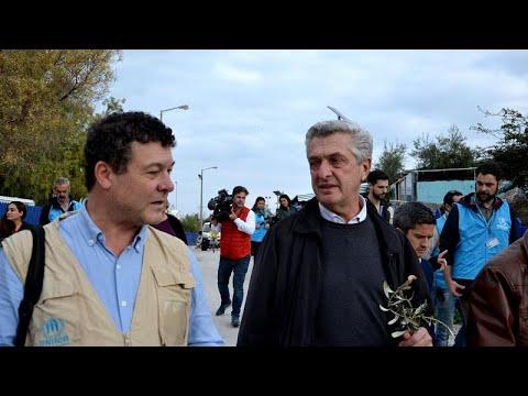 Επίσκεψη του επικεφαλής της UNHCR σε Λέσβο και Αθήνα