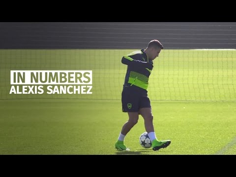 Arsenal Striker Alexis Sanchez In Numbers