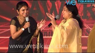 Video Dubbing artist Raveena with her mom Sreeja awesome performance on stage | Soulmates Awards 2017 MP3, 3GP, MP4, WEBM, AVI, FLV Januari 2018