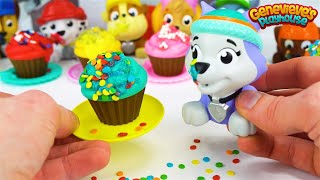 Video Learn Colors with Paw Patrol Cupcakes and Pororo the Little Penguin Toy Bus! MP3, 3GP, MP4, WEBM, AVI, FLV Agustus 2018