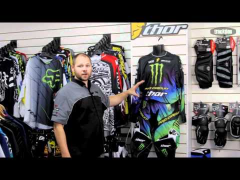 Thor Core Monster Energy/Pro Circuit Riding Gear Available from www.tracktion.co.nz