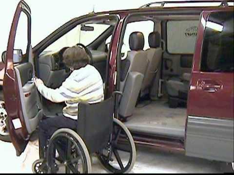 Wheelchair Access Alternative: The Glide 'n Go (Wheelchair lift vans, trucks and SUV/4x4's)