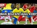 Neymar Ditekel 10x Sampai Kaus Kakinya Bolong
