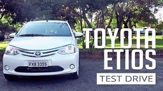 Toyota Etios - Test Drive