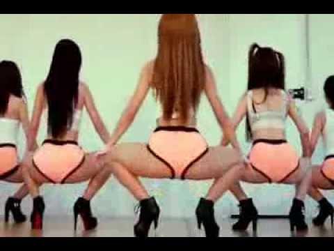 Sexy Hot Asian Girls Twerking (видео)