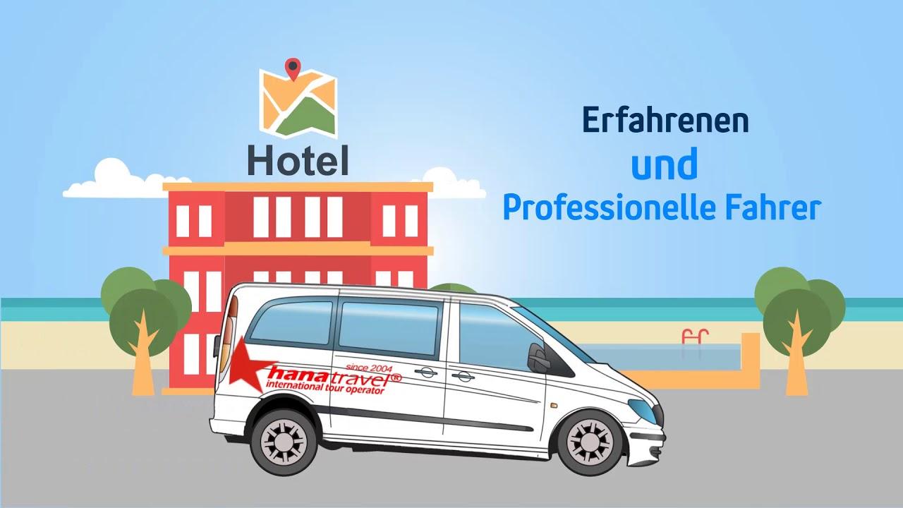 Antalya Flughafentransfers taxi nach Hotels