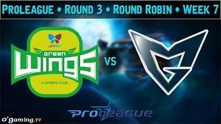 Samsung Galaxy vs Jin Air Green Wings - Proleague 2015 - Round Robin : Round 3 - Week 7