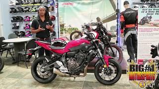 9. 2017 Yamaha FZ-07 ABS