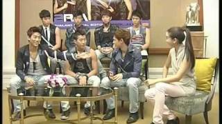 2PM MTV Thailand  Interview 2009 Part 2/2
