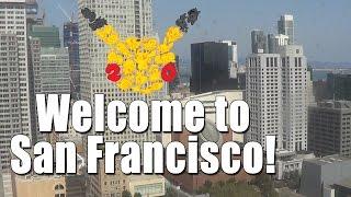 California Trip 2016 Vlog - Day 1 (POKEMON CENTER!!!) by SkulShurtugalTCG