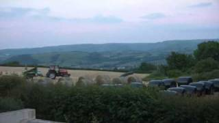 I've got a brand new combine harvester timelapse remix.