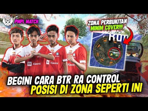 PMPL KERAS!!! BTR RA CONTROL POSISI DI ZONA TERBUKA DAN MINIM COVER SAMPAI WWCD!!! | Ryzen Gaming