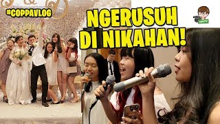 Video GREGET!! NYANYI KPOP DI NIKAHAN ORANG!! - #CoppaVlog MP3, 3GP, MP4, WEBM, AVI, FLV April 2019
