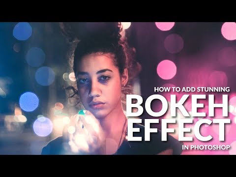 Video Create a Stunning BOKEH Effect in Photoshop download in MP3, 3GP, MP4, WEBM, AVI, FLV January 2017