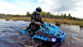 7. Sink or Swim (Polaris Sportsman XP1000 Highlifter's, Can Am renegade xmr1000's)