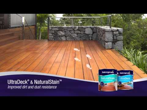 INTERGAIN ULTRADECK & NATURALSTAIN