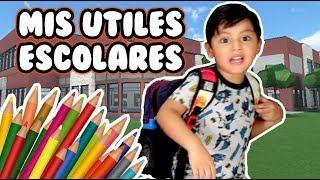 Mis Útiles Escolares | Primer dia de Clases | Karim Juega