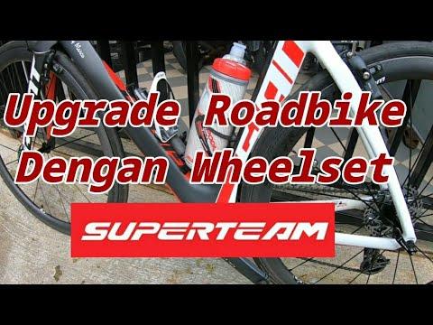 Upgrade ROADBIKE Dengan Wheelset Carbon Superteam 380 - Gowes Hepi DhonyRenny