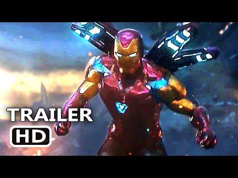 AVENGERS ENDGAME Final Trailer (2019) Marvel Movie HD