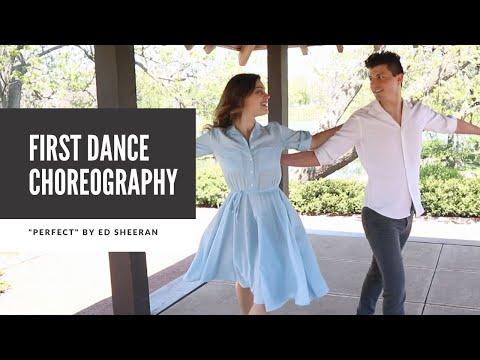 "Wedding First Dance Choreography ""Perfect"" by Ed Sheeran |  Duet Dance Studio Chicago"