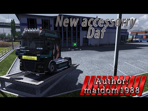 New accessories for DAF XF