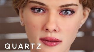 "Video An ""anatomically correct"" Scarlett Johansson robot MP3, 3GP, MP4, WEBM, AVI, FLV Juli 2018"