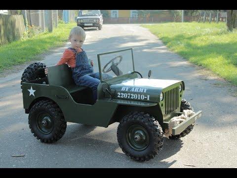 Самодельные детские электромобили
