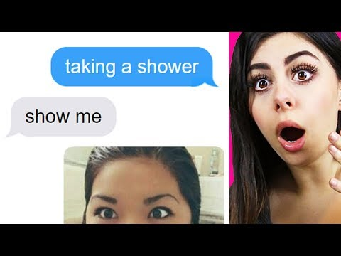 KIDS TEXTING THEIR CRUSH fails