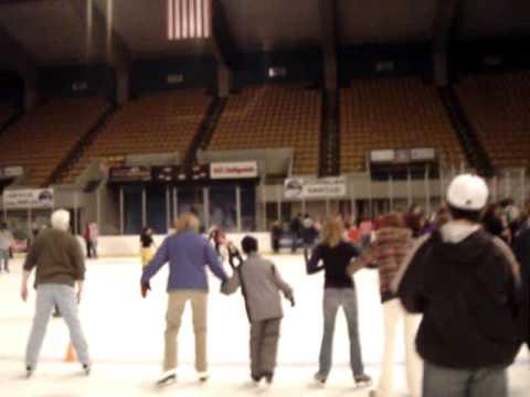 Ice Skating at Roanoke Civic Center