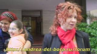 Video Andrea del Boca 18-10-2012 con fans MP3, 3GP, MP4, WEBM, AVI, FLV Juli 2018