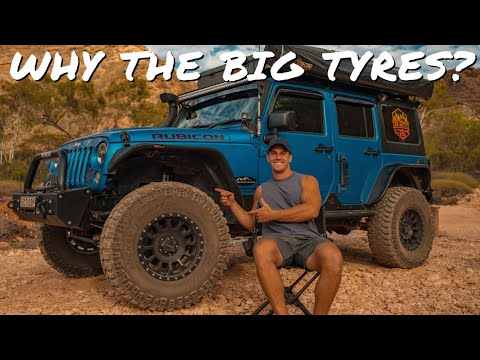 WHY WE CHOOSE TO OVERLAND ON BIG TIRES (TYRES)