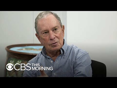 How Michael Bloomberg is trying to shape Democratic agenda