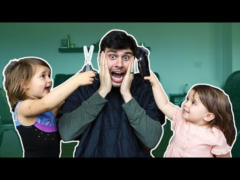 Hair cutting - MY KIDS CUT MY HAIR!