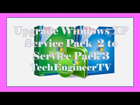 Upgrade Windows XP Service Pack  2 to Service Pack 3