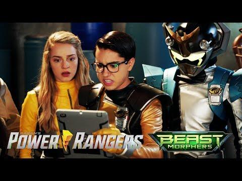Mayor meets the Power Rangers   Beast Morphers Evox: Upgraded   Power Rangers Official