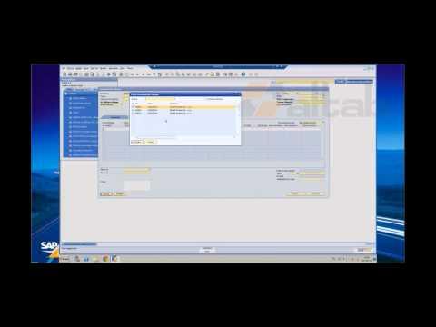 SAP Business One - obieg faktur zakupu w firmie