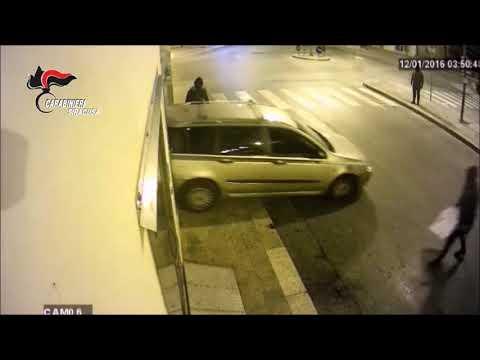 Assalti e rapine: il blitz dei carabinieri VIDEO